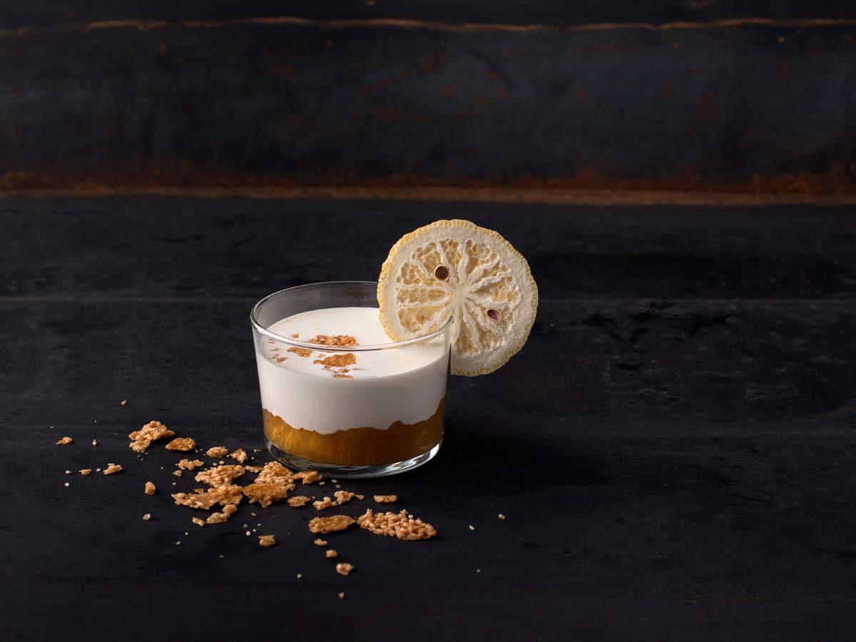 CHERRYSTONE Photographie Culinaire _ Domaine des Séquoias, marmelade au yuzu et yaourt