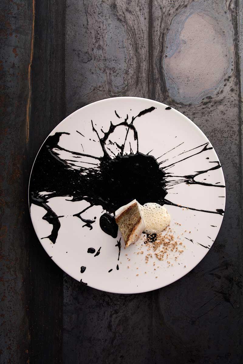 CHERRYSTONE Photographe studio Culinaire lyon _ Domaine des Séquoias, Saint-Pierre sauce yuzu