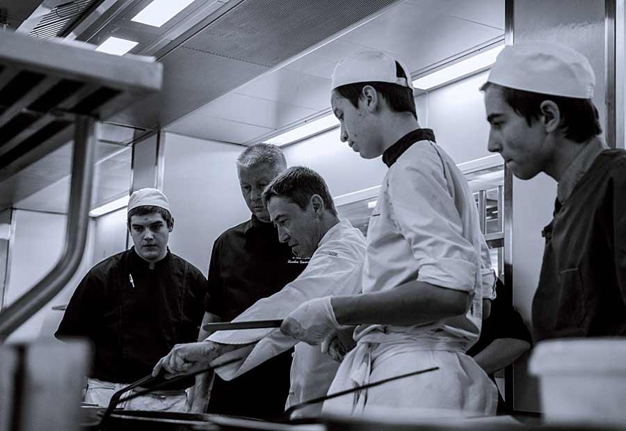 CHERRYSTONE Photographe Culinaire, Alexandre Klimenko aux commandes