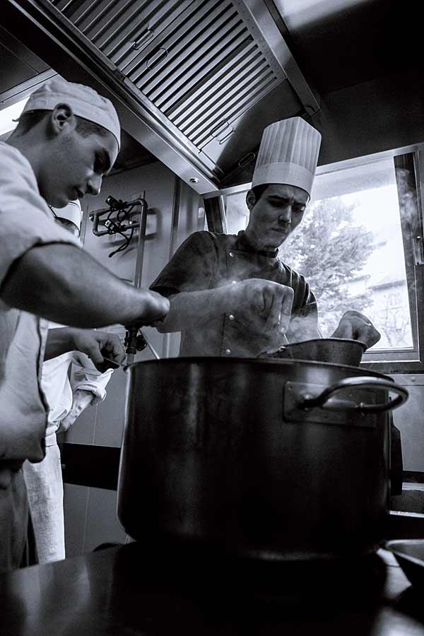 CHERRYSTONE Photographe Culinaire, élèves du lycée Hôtelier