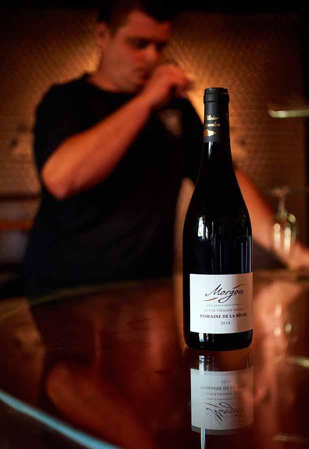 CHERRYSTONE Photographie Culinaire Lyon_packshot bouteille vin