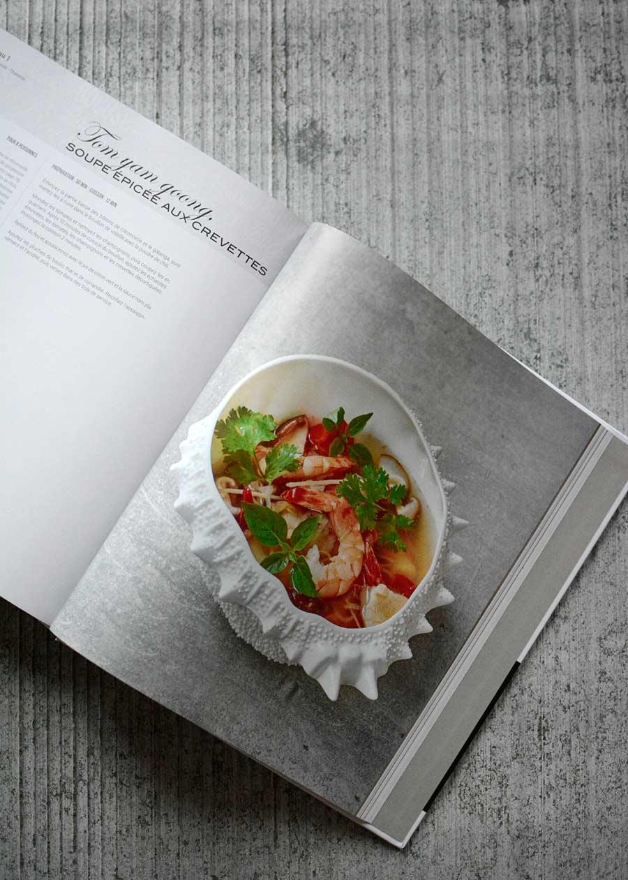 photos de recettes de cuisine du monde, réalisées par le chef Naquin, le tout en lumière naturelle