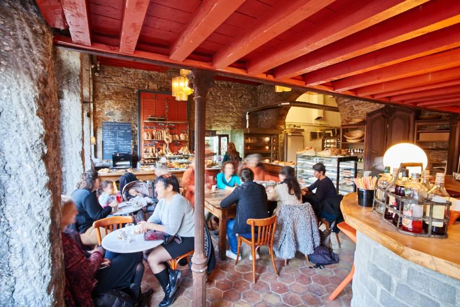 CHERRYSTONE Photographie Culinaire_BOULANGERIE DES CHARTREUX Lyon somptueux décor