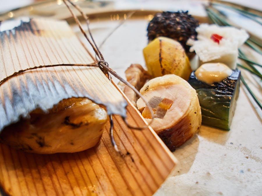 cherrystone photographie culinaire_ tokyo kozue _ maquereau fumé hassun