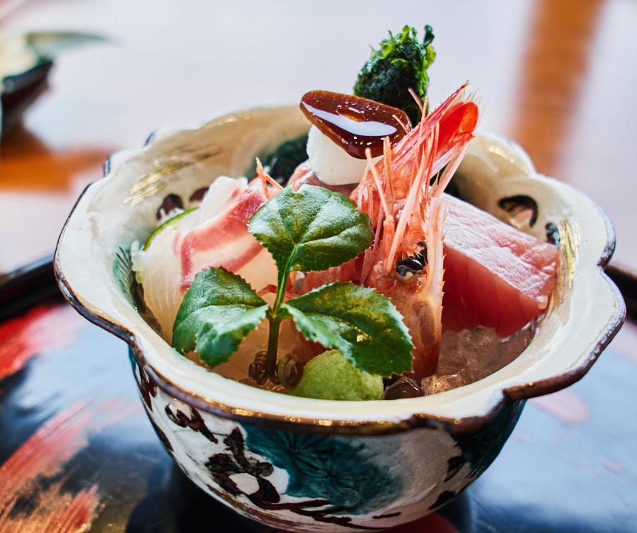 cherrystone photographie culinaire_ tokyo kozue _ sashimis yellowtail bonite