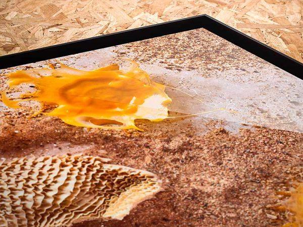 Photo studio culinaire cadre caisse amércaine