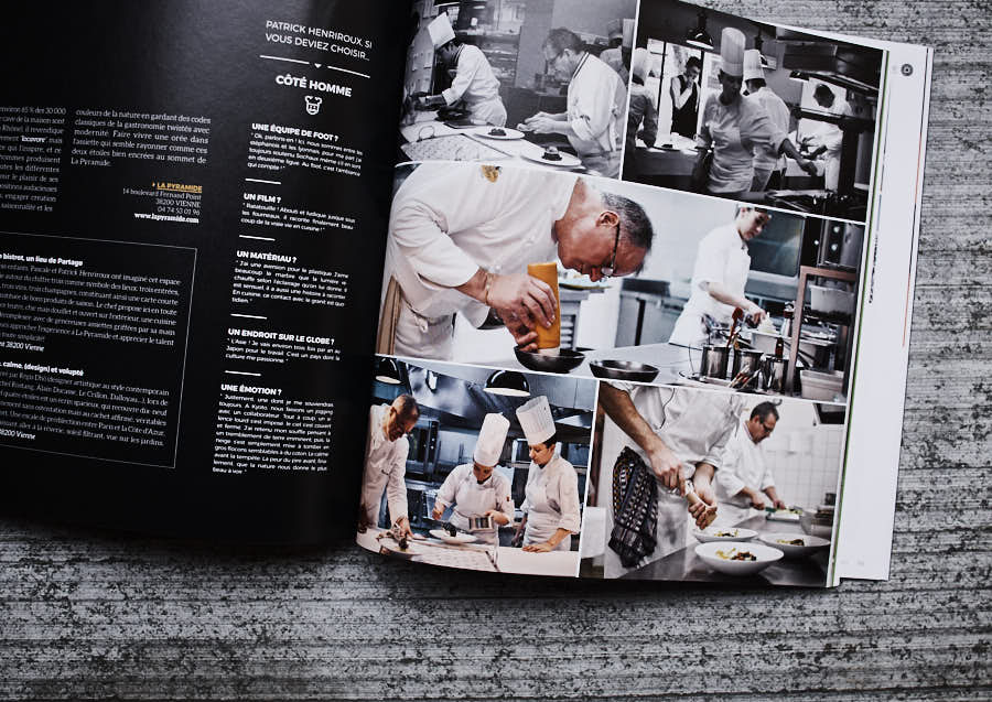 photos culinaires réalisées pour Arts & gastronomie