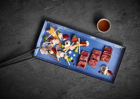 ©CHERRYSTONE Photographe culinaire lyon - REVOL - assiette rectangulaire