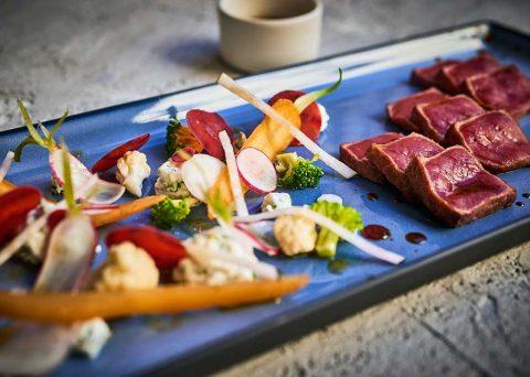 ©CHERRYSTONE Photographe culinaire lyon - plat rectangulaire - REVOL