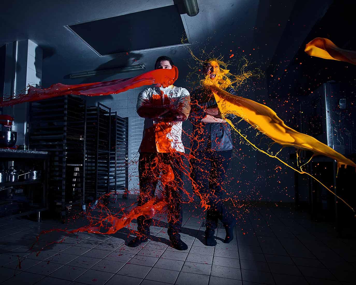 Photographe culinaire Lyon | Portraits décalés