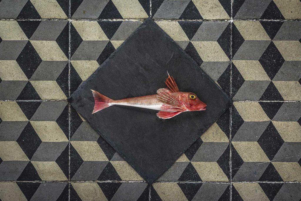 poisson rouget art culinaire